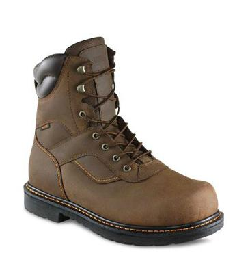 Worx 8-inch Boot Brown 5805
