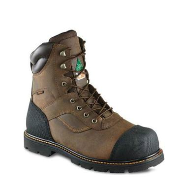 Worx 8-inch Boot Brown 5908