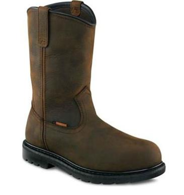 Worx 10-inch Pull-on Boot Brown 6200